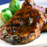Grilled Mango BBQ Chicken