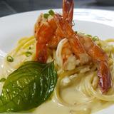 Shrimp Bucatini