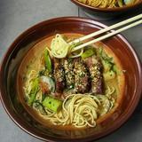 Smoked Beef Brisket Noodles