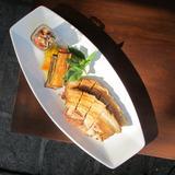 Bagnet with KBL sauce (kamatis,lasuna,bagoong)